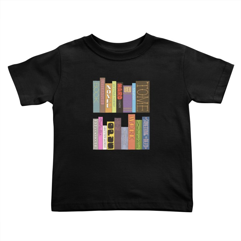 Meta-Bookshelf Kids Toddler T-Shirt by jeffisawesome's Artist Shop
