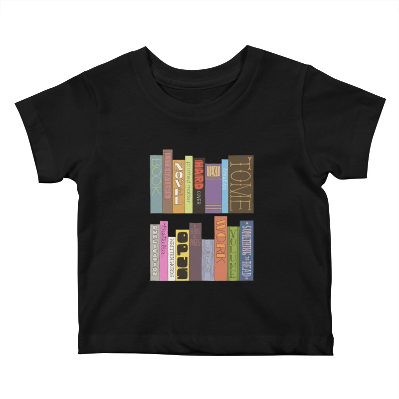 Meta-Bookshelf Kids Baby T-Shirt by jeffisawesome's Artist Shop