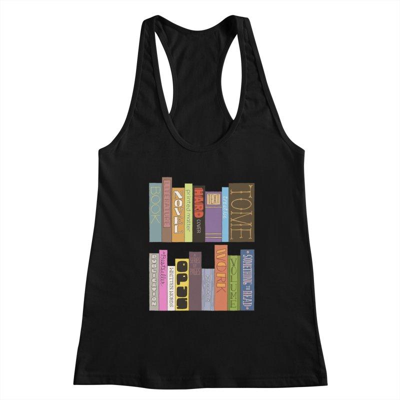 Meta-Bookshelf Women's Tank by jeffisawesome's Artist Shop