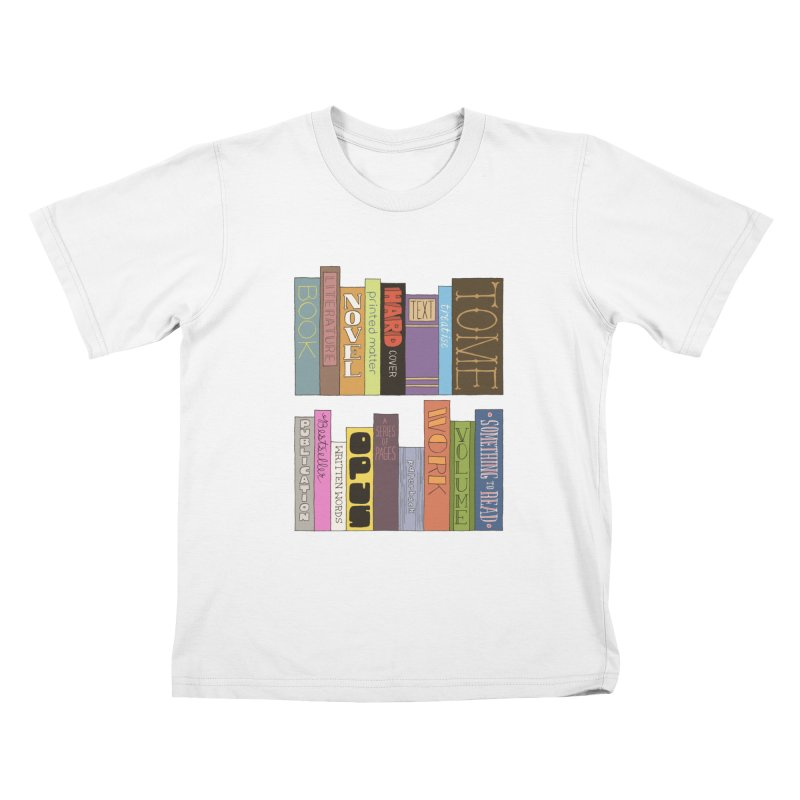 Meta-Bookshelf Kids T-Shirt by jeffisawesome's Artist Shop