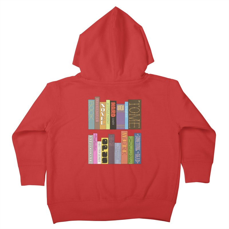 Meta-Bookshelf Kids Toddler Zip-Up Hoody by jeffisawesome's Artist Shop