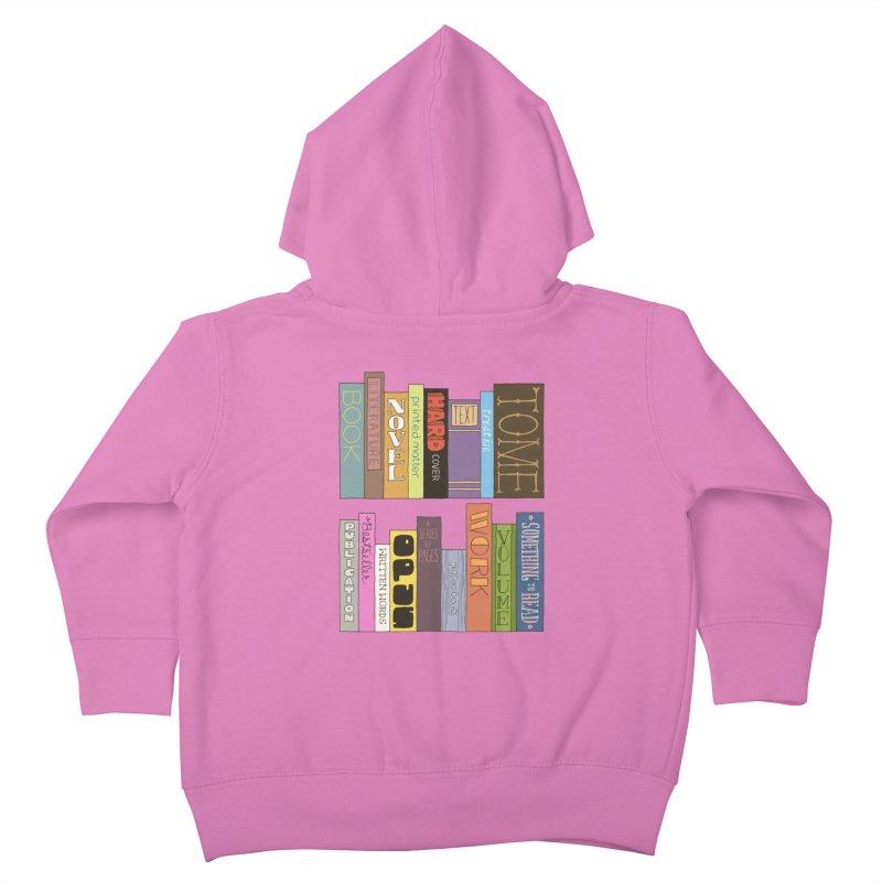 Meta-Bookshelf Kids Toddler Zip-Up Hoody by jeffisawesome's Artist Shop