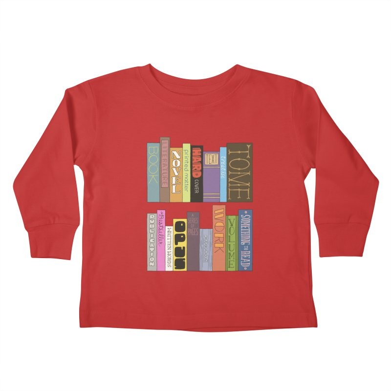 Meta-Bookshelf Kids Toddler Longsleeve T-Shirt by jeffisawesome's Artist Shop