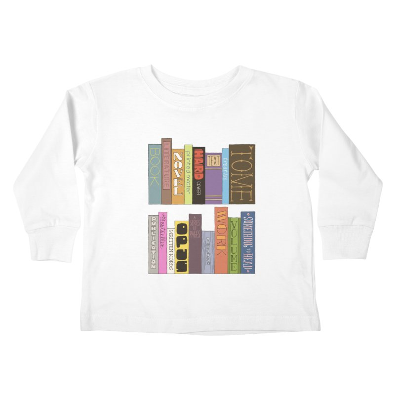 Meta-Bookshelf Kids Toddler Longsleeve T-Shirt by jeffisawesome's Artist Shop