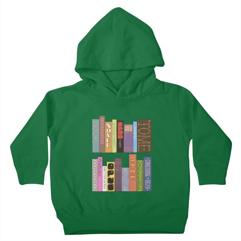 Meta-Bookshelf Kids Toddler Pullover Hoody by jeffisawesome's Artist Shop