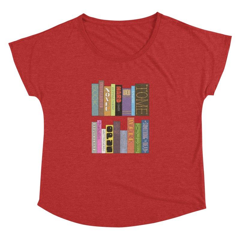 Meta-Bookshelf Women's Dolman Scoop Neck by jeffisawesome's Artist Shop