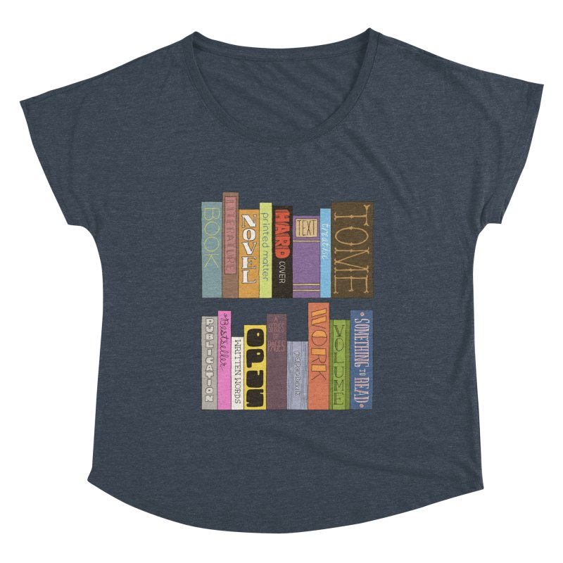 Meta-Bookshelf Women's Scoop Neck by jeffisawesome's Artist Shop