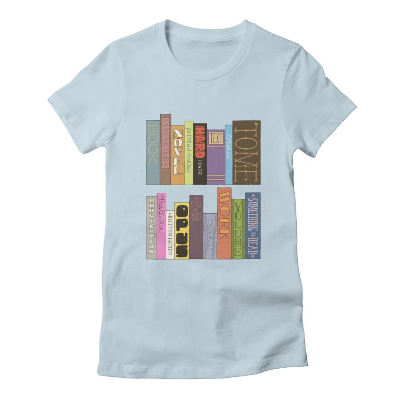 Meta-Bookshelf Women's T-Shirt by jeffisawesome's Artist Shop