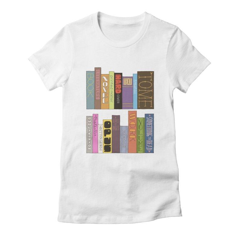Meta-Bookshelf Women's T-Shirt by jeffisawesome's Artist Shop