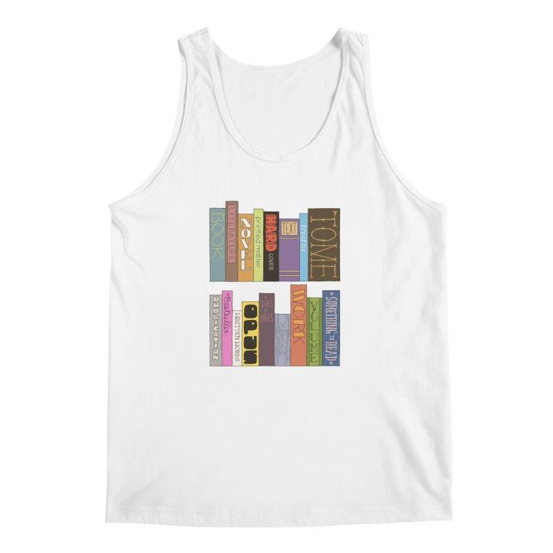 Meta-Bookshelf Men's Regular Tank by jeffisawesome's Artist Shop