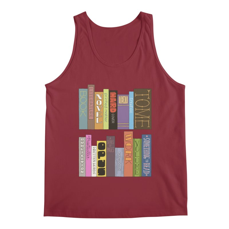 Meta-Bookshelf Men's Tank by jeffisawesome's Artist Shop