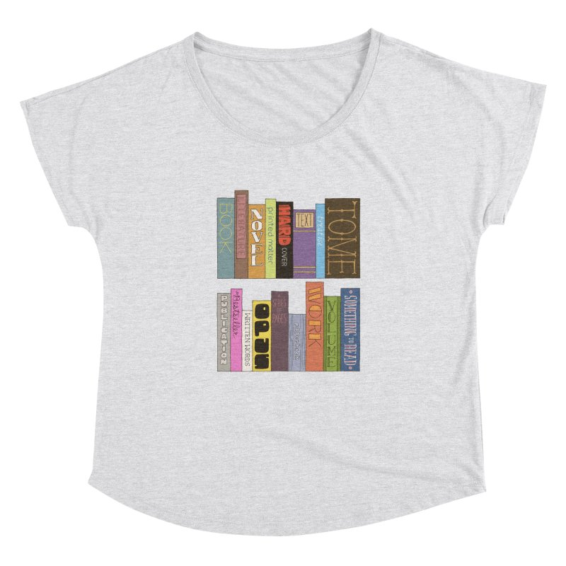 Meta-Bookshelf Women's Scoop Neck by jeffisawesome's Artist Shop