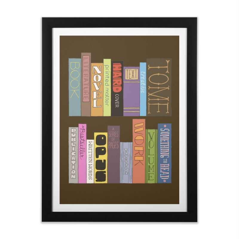 Meta-Bookshelf Home Framed Fine Art Print by jeffisawesome's Artist Shop