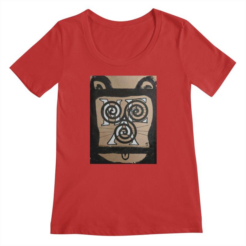T-shirt for Chip Women's Regular Scoop Neck by jeffjacques's Artist Shop