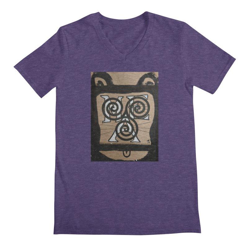 T-shirt for Chip Men's Regular V-Neck by jeffjacques's Artist Shop