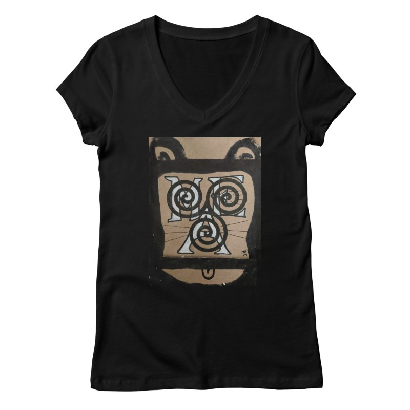 T-shirt for Chip Women's V-Neck by jeffjacques's Artist Shop