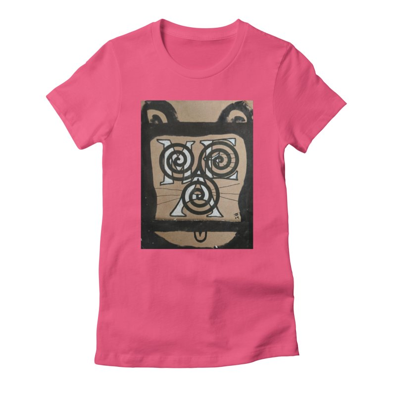 T-shirt for Chip Women's Fitted T-Shirt by jeffjacques's Artist Shop
