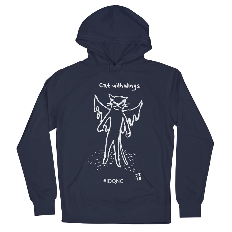 IDQNC-002 (white) Men's Pullover Hoody by jeffjacques's Artist Shop