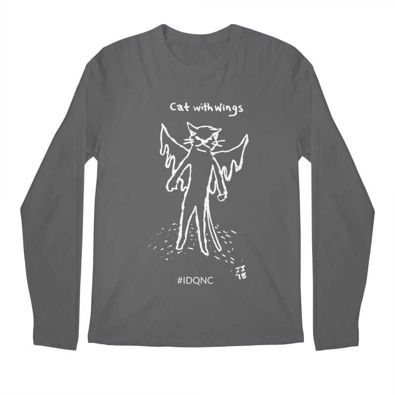 IDQNC-002 (white) Men's Longsleeve T-Shirt by jeffjacques's Artist Shop