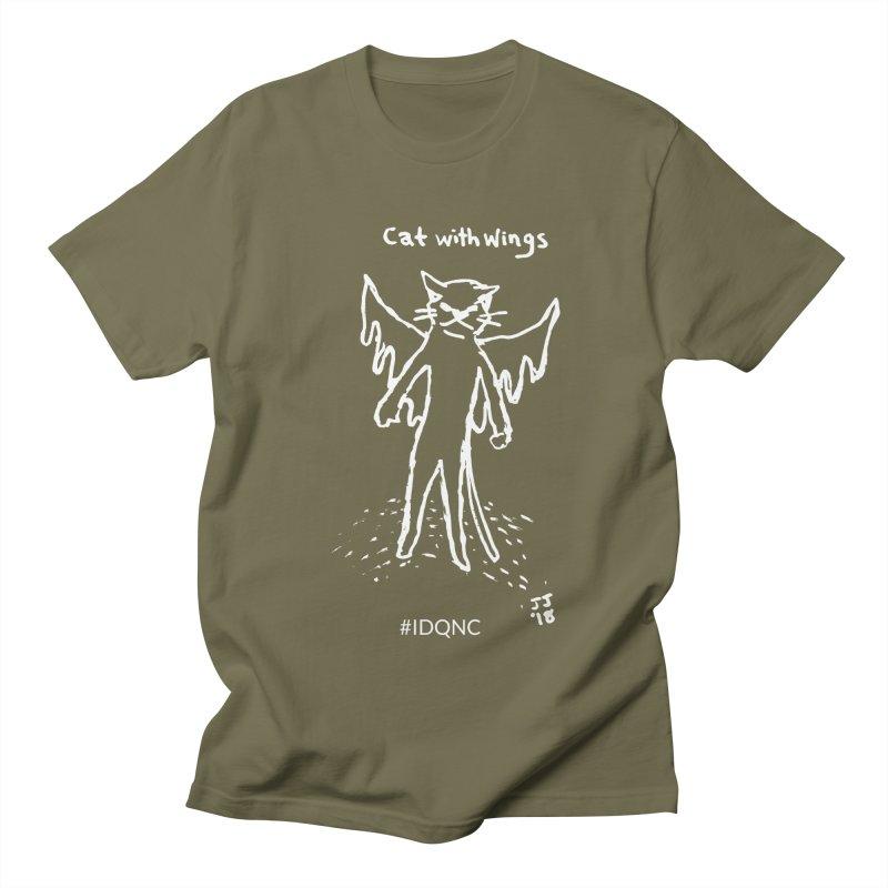 IDQNC-002 (white) Men's T-Shirt by jeffjacques's Artist Shop
