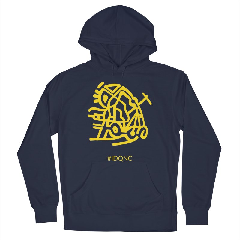 IDQNC-003 (gold) Men's Pullover Hoody by jeffjacques's Artist Shop