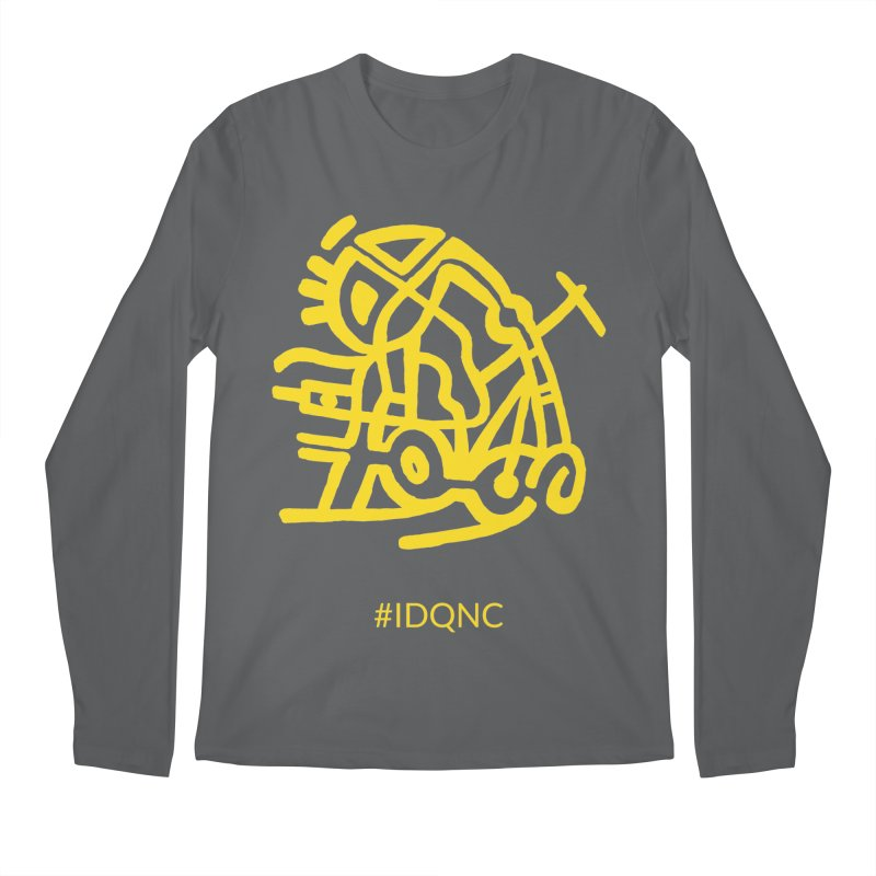 IDQNC-003 (gold) Men's Longsleeve T-Shirt by jeffjacques's Artist Shop