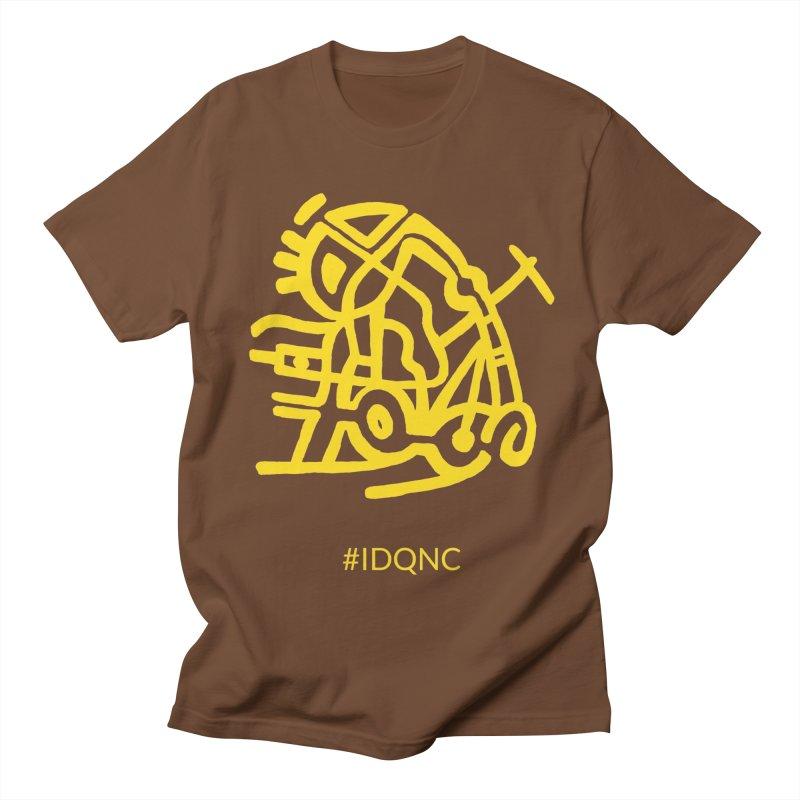 IDQNC-003 (gold) Men's T-Shirt by jeffjacques's Artist Shop