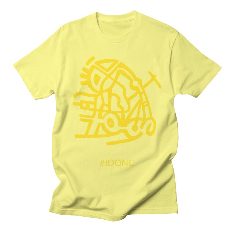 IDQNC-003 (gold) Men's T-Shirt by jeffjacques's Artist Shop