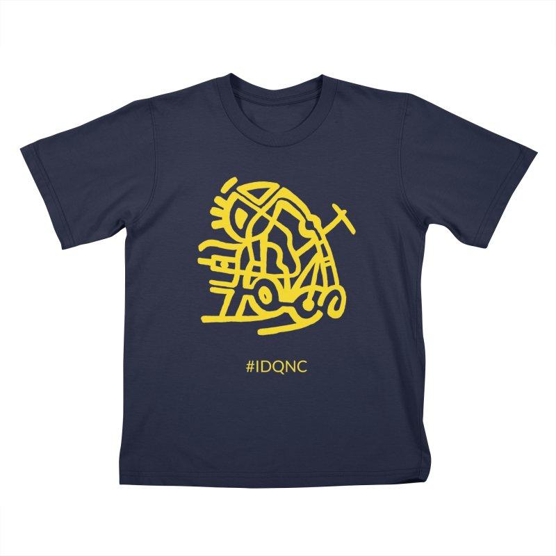 IDQNC-003 (gold) Kids T-Shirt by jeffjacques's Artist Shop