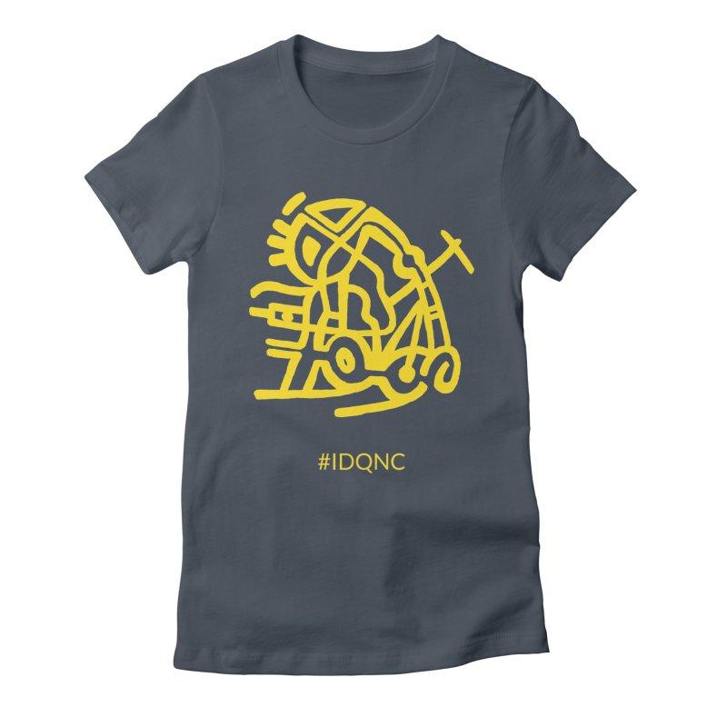 IDQNC-003 (gold) Women's T-Shirt by jeffjacques's Artist Shop