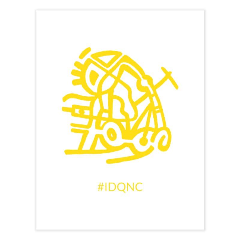 IDQNC-003 (gold) Home Fine Art Print by jeffjacques's Artist Shop