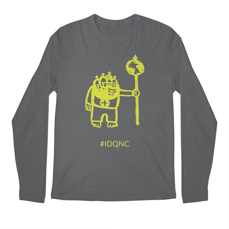 IDQNC-004 (lime) Men's Longsleeve T-Shirt by jeffjacques's Artist Shop