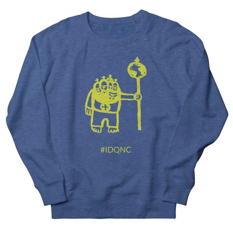 IDQNC-004 (lime) Men's Sweatshirt by jeffjacques's Artist Shop
