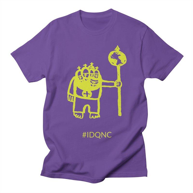 IDQNC-004 (lime) Men's T-Shirt by jeffjacques's Artist Shop