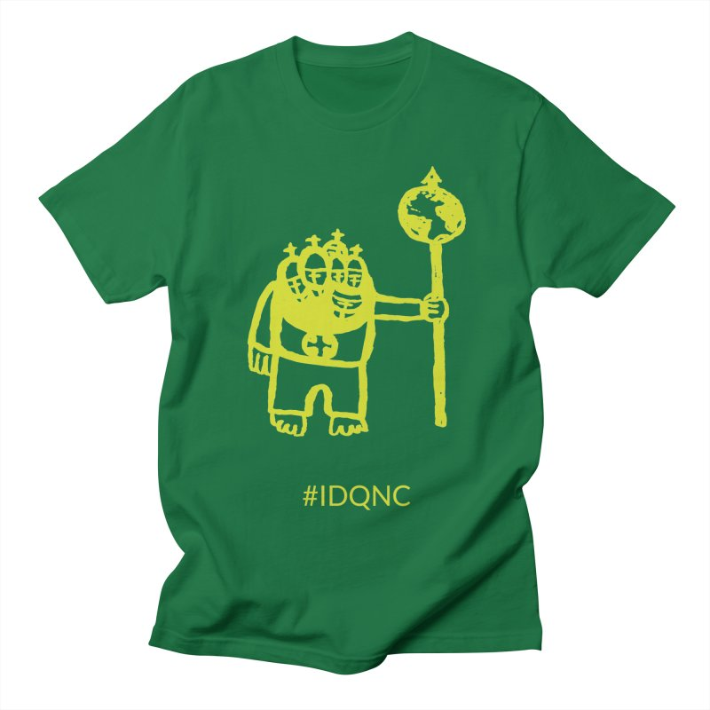 IDQNC-004 (lime) Men's T-Shirt by jeffjacques's Artist Shop