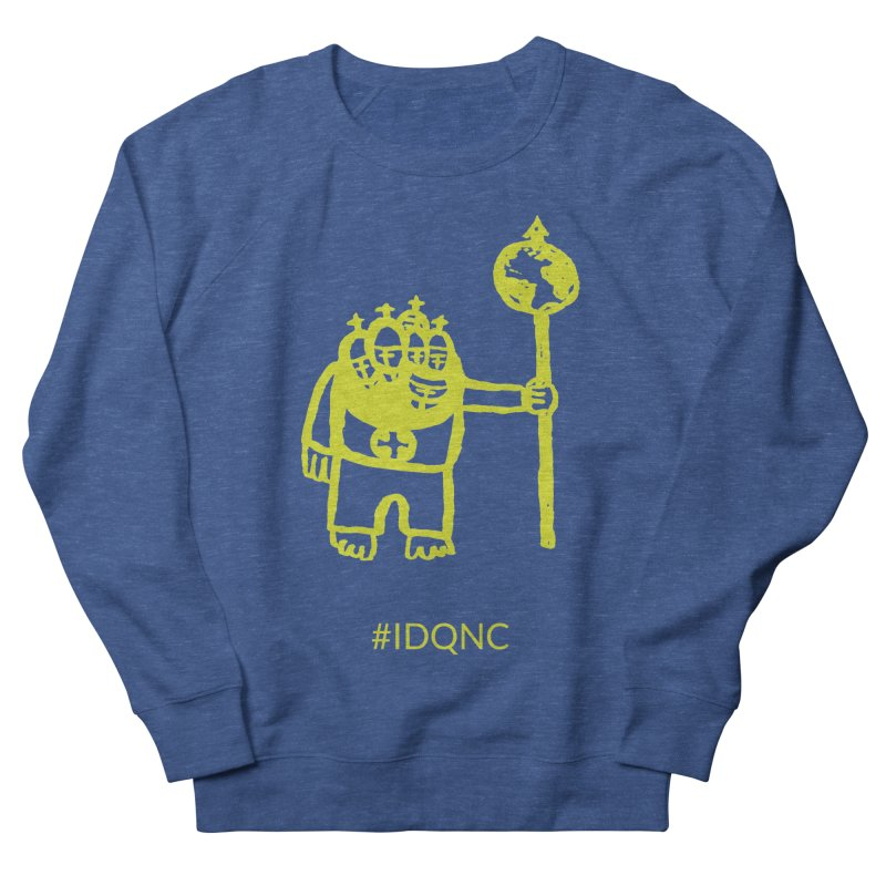 IDQNC-004 (lime) Men's Sweatshirt by jeffjacques's Artist Shop