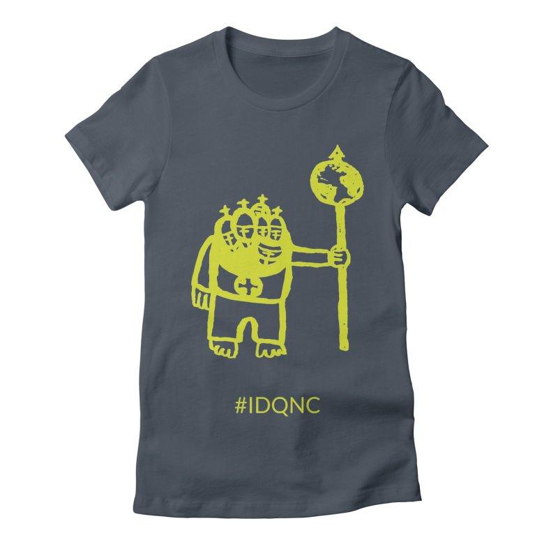 IDQNC-004 (lime) Women's T-Shirt by jeffjacques's Artist Shop
