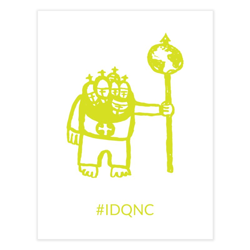 IDQNC-004 (lime) Home Fine Art Print by jeffjacques's Artist Shop