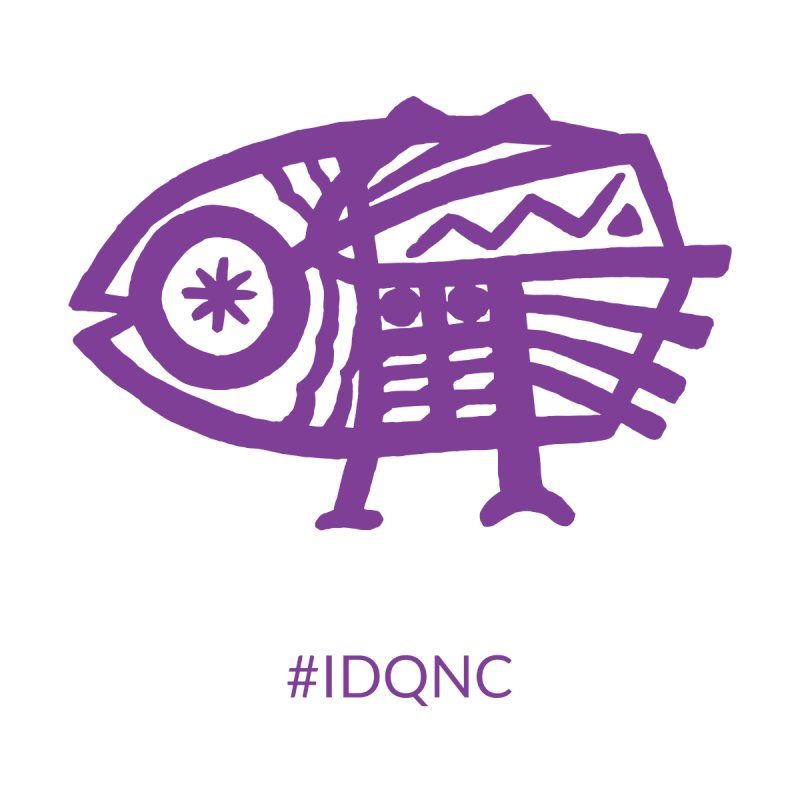 IDQNC-005 (purple) Women's V-Neck by jeffjacques's Artist Shop