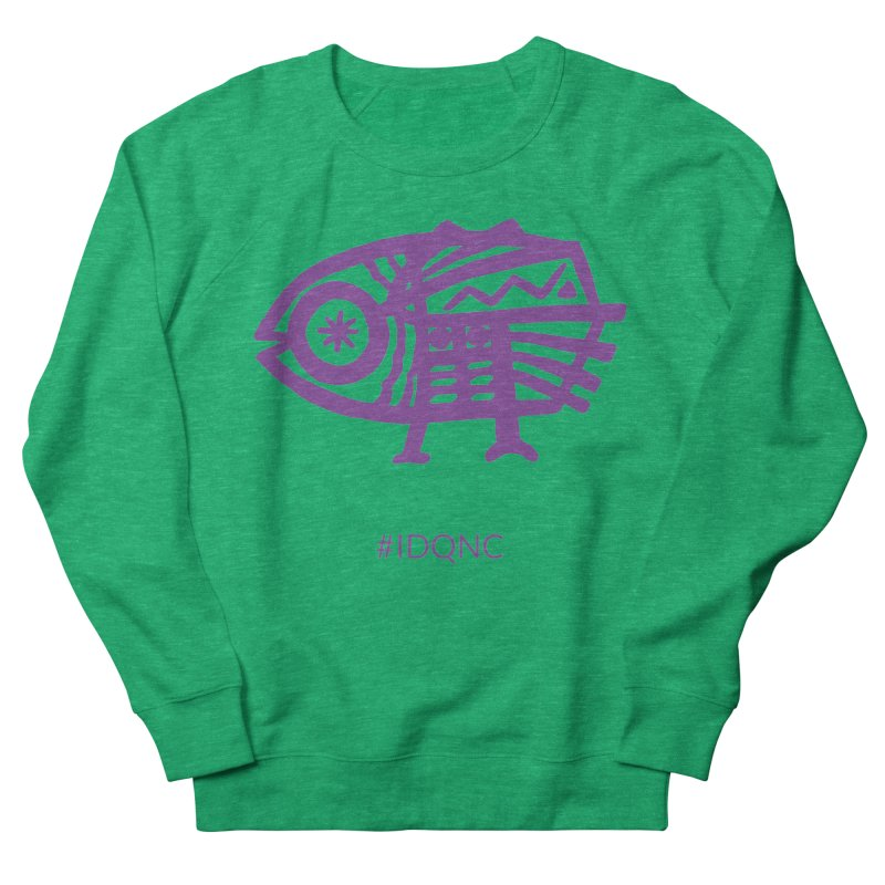 IDQNC-005 (purple) Women's Sweatshirt by jeffjacques's Artist Shop