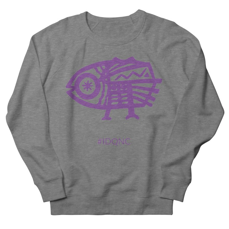 IDQNC-005 (purple) Women's Sweatshirt by jeffjacques's Artist Shop