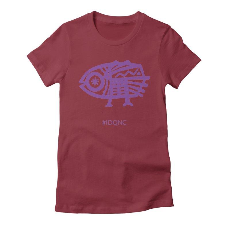 IDQNC-005 (purple) Women's T-Shirt by jeffjacques's Artist Shop