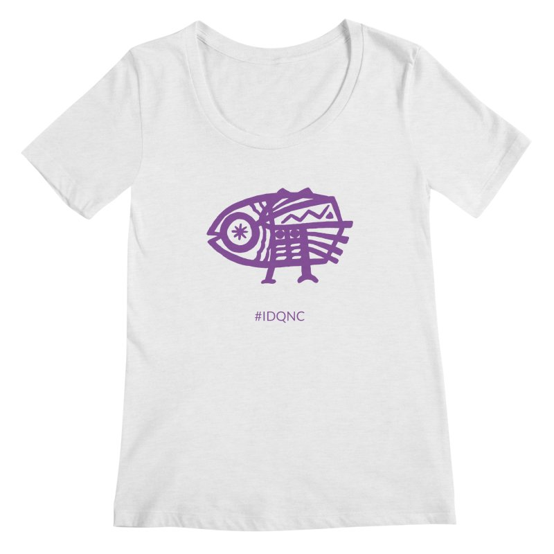 IDQNC-005 (purple) Women's Scoop Neck by jeffjacques's Artist Shop