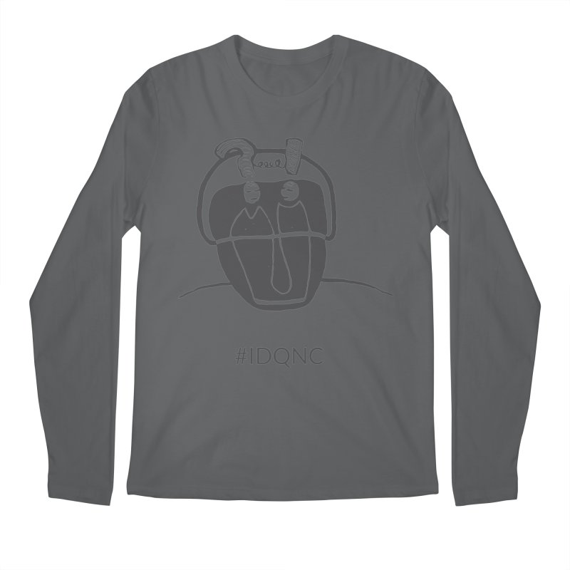 IDQNC-006 (gray) Men's Longsleeve T-Shirt by jeffjacques's Artist Shop