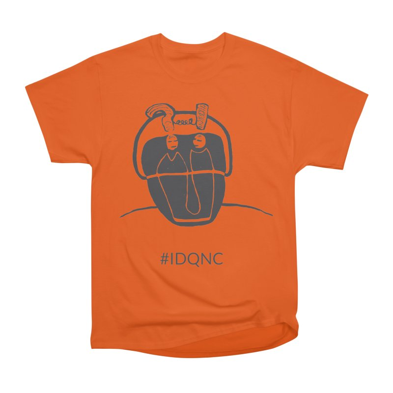 IDQNC-006 (gray) Men's T-Shirt by jeffjacques's Artist Shop