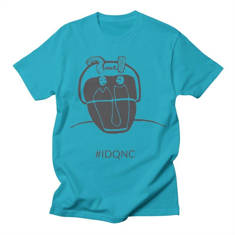 IDQNC-006 (gray) Men's T-Shirt by jeffjacques's Artist Shop