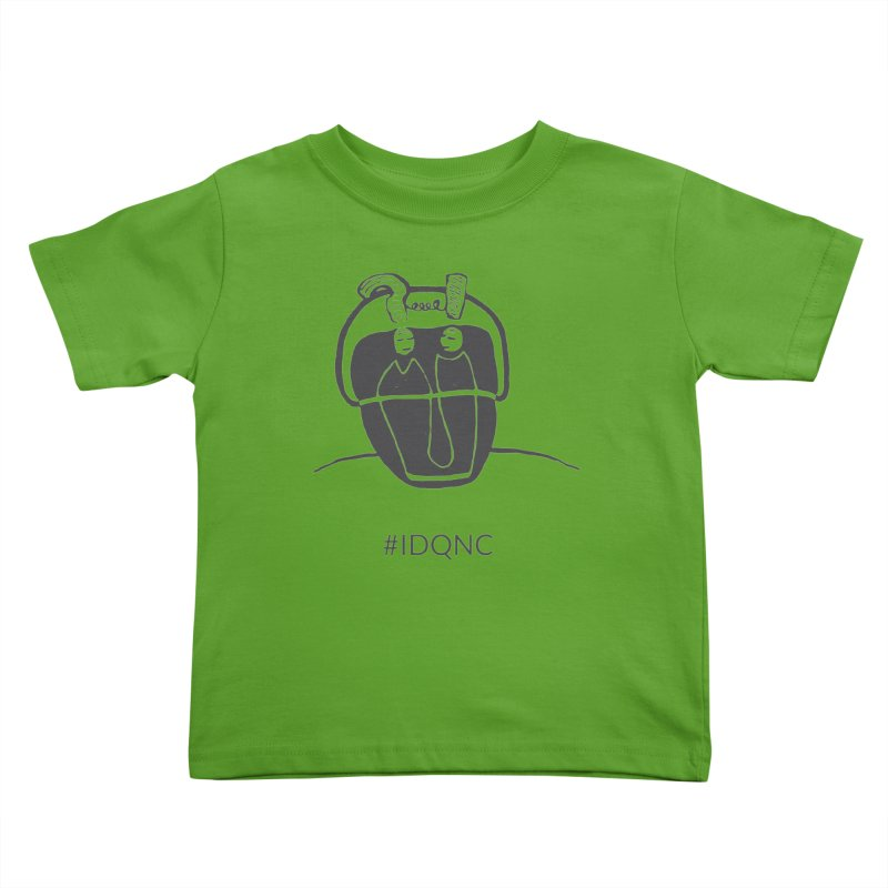 IDQNC-006 (gray) Kids Toddler T-Shirt by jeffjacques's Artist Shop