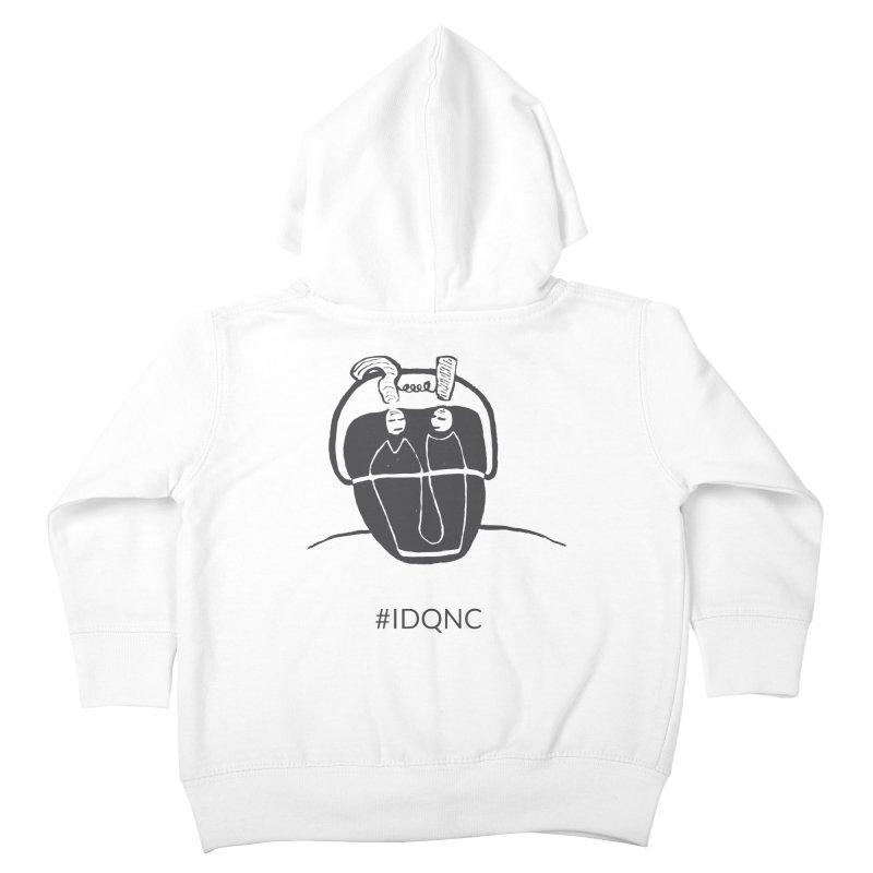 IDQNC-006 (gray) Kids Toddler Zip-Up Hoody by jeffjacques's Artist Shop