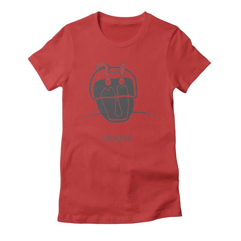 IDQNC-006 (gray) Women's T-Shirt by jeffjacques's Artist Shop