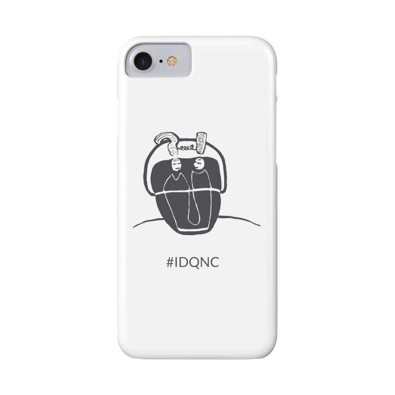 IDQNC-006 (gray) Accessories Phone Case by jeffjacques's Artist Shop